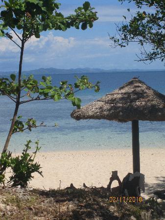 Navini Island Resort: View from the bure