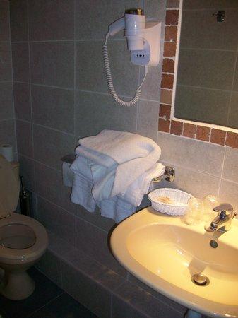 Logis Les Vignes Blanches : bathroom