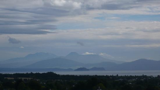 Hilton Lake Taupo: Room with a view.