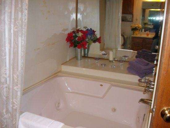 Whispering Pines Bed and Breakfast: Jacuzzi