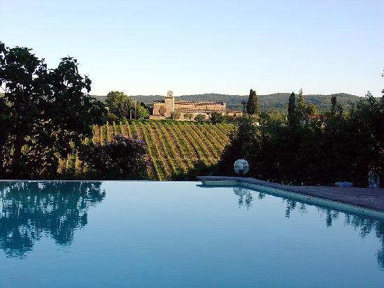 Tenuta di Corsano: View from the pool