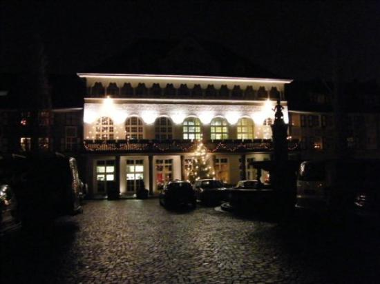 Mintrops Stadt Hotel Margarethenhohe: At the Mintrops Hotel, Margarethenhöhe, Essen :)  Our favourite restaurant and hotel ever