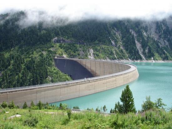 Mayrhofen, Österreich: Schlegeisspeicher Reservoir, day 1
