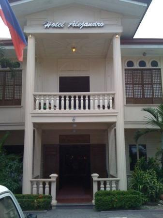 Hotel Alejandro: Once occupied by Japenese military, this former home of Dr. Alejandro was used by the most famou