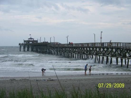 Beautiful sight picture of myrtle beach coastal south for Myrtle beach pier fishing report