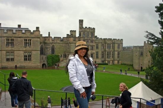 Warwick Castle  Me at Warwick de81eec9004