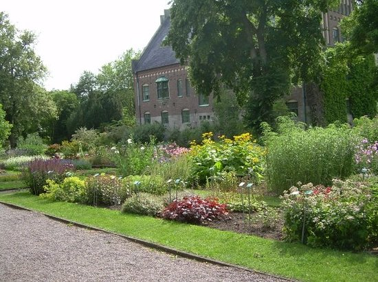 the beautiful park in Lund, Sweden