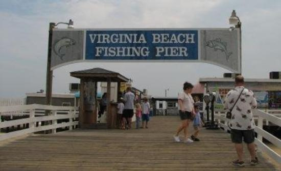 Fishing pier virginia beach va picture of virginia for Va beach fishing pier