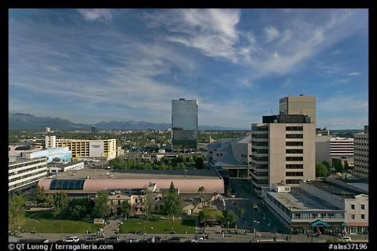 Downtown Anchorage Alaska Picture Of Anchorage Alaska