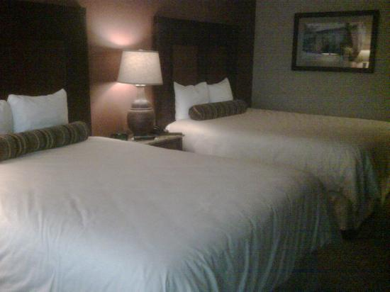 Downstream Casino Resort: This was our regular 69 dollar room