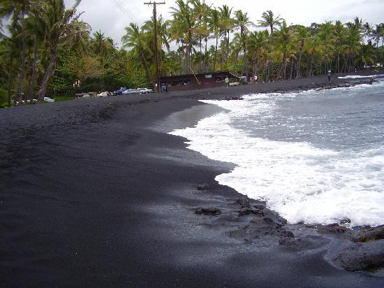 Kailua Kona Hi Black Beach The Island Hawaii