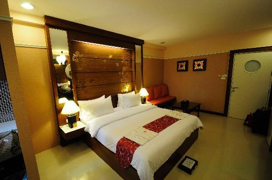 Mariya Boutique Residence at Suvarnabhumi Airport: Deluxe room