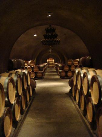 Far Niente Winery: The caves!