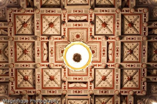 Ben Lomond Suites Historic Hotel, an Ascend Collection Hotel: Historic Ceiling in the Crystal Ballroom