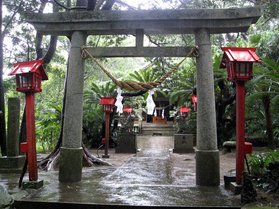 Kumage-gun Minamitane-cho, Japan: 宝満神社