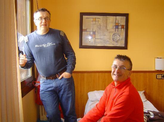 Hotel Refugi dels Isards : Chambre 302 coté lit single