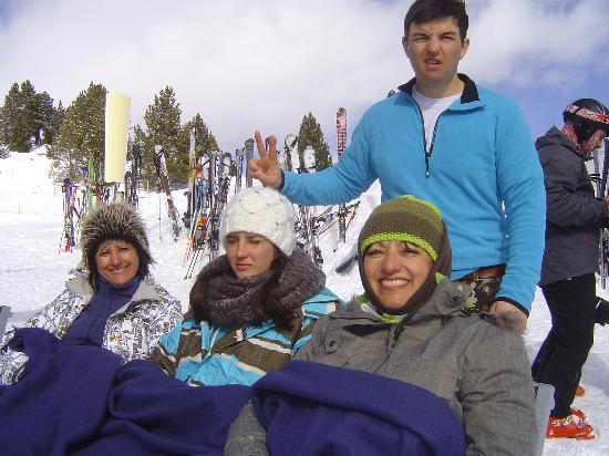 Hotel Refugi dels Isards: Fait froid en Fevrier !!!