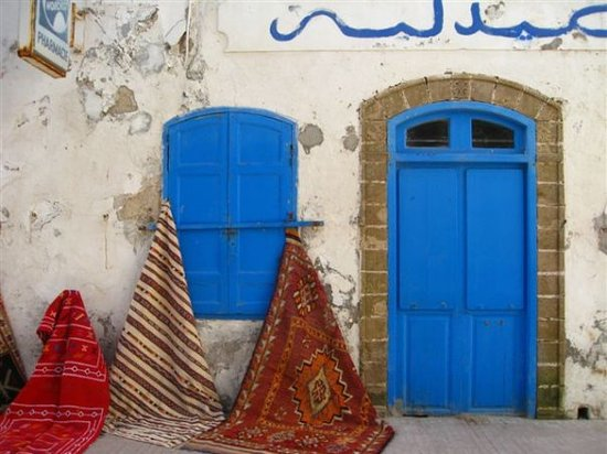 Le Souk : A pharmacy turned rug shop in Essaouira's laidback souks