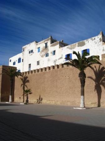 Festningsvollene i Essaouria: Essaouira