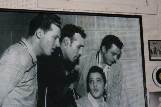 Johnny Cash Elvis Presley Tour