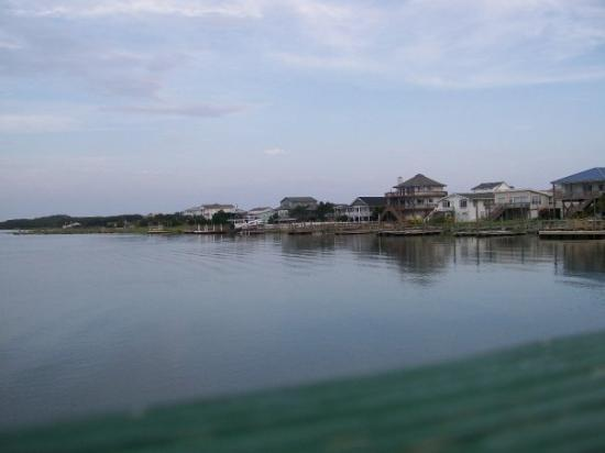 View from the fish house picture of oak island north for Oak island nc fishing report