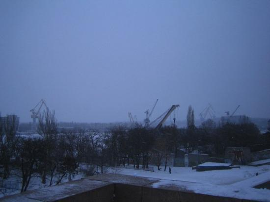 Mykolayiv, Ukraina: Ship-building docks
