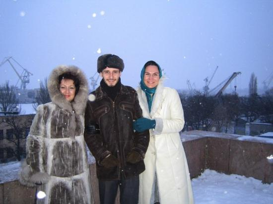 Mykolayiv, Ukraina: Is it possibly cold out there?