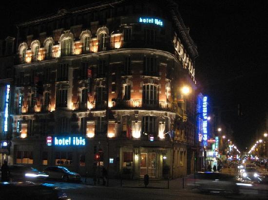 Ibis Toulouse Gare Matabiau: Hotel von außen