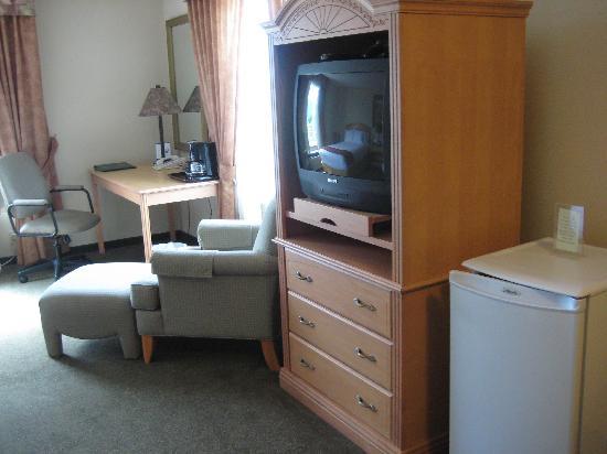 Comfort Inn & Suites : Amenities Room 413 (June 2008)