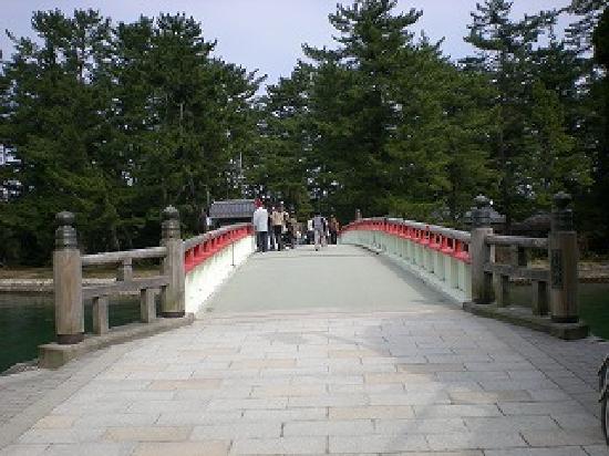 Amanohashidate: 回転する橋です。