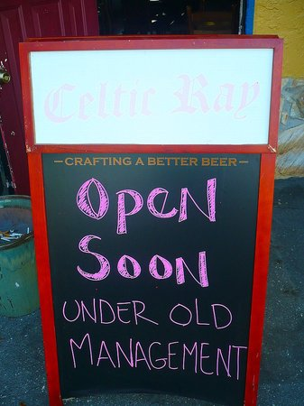 The Celtic Ray Public House : Opening Soon!
