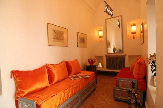 Les Jardins de Riad Laarouss: Salon