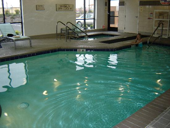 Small Pool 3 5 5ft Deep Picture Of Springhill Suites