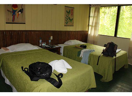 Heliconia Amazon River Lodge: Our room