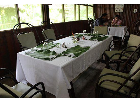 Heliconia Amazon River Lodge: Lunch at the Dining Room
