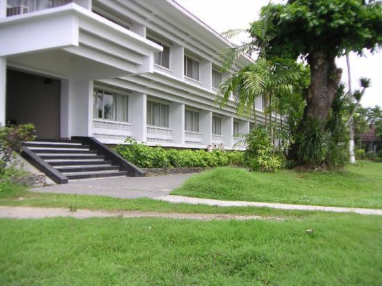 โรงแรมวอเตอร์ฟร้อนท์ อินซูลาร์ ดาเวา: 宿泊棟です。
