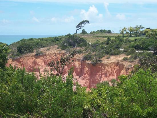 Club Med Trancoso: de superbes falaises