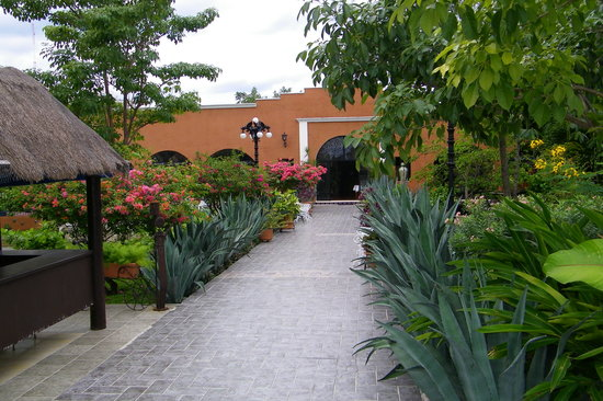 Casa Mission: MAIN ENTRANCE THREW GARDEN