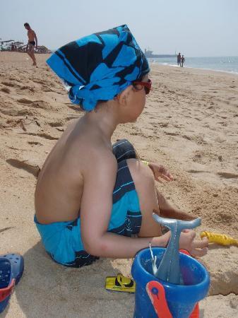Junior at the beach