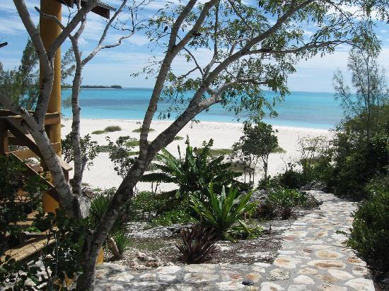 Shannas Cove Resort: View of the caribean from the cottage