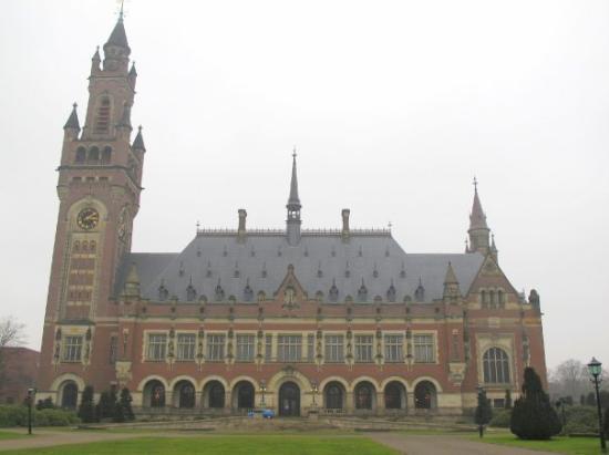 Palais de la Paix : International Court of Justice - Toà án Quốc tế vì Công lý La Haye