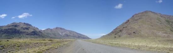 hacia el salto del Agrio, Copahue Caviahue