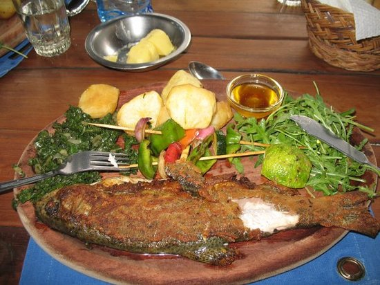 Trout Tree: my grilled trout....simply delicioussss