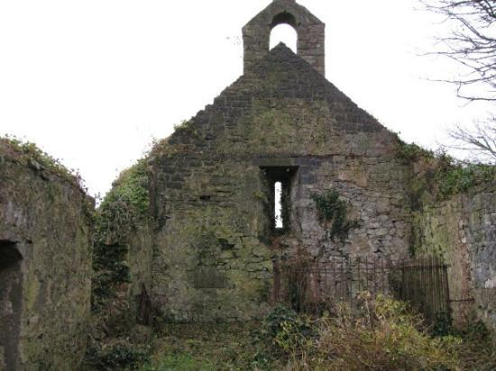 Some Random Crumbling Church By The Side Of The Road From
