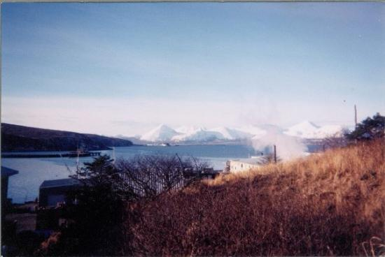Sand Point, AK: Beautiful views from the surrounding mountains.