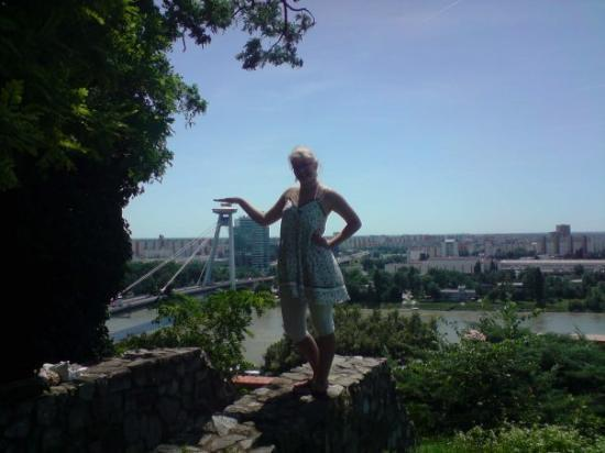 Bilde fra New Bridge (Novy Most)