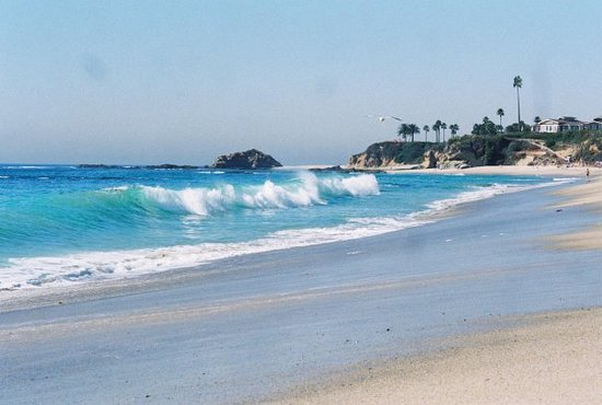 Laguna Niguel, Калифорния: My Favourite Beach.Aliso Creek Beach in Laguna Beach