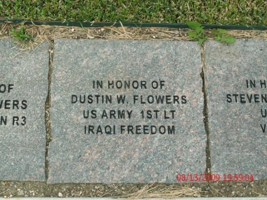 Cody, WY: The park is lined with pavers.