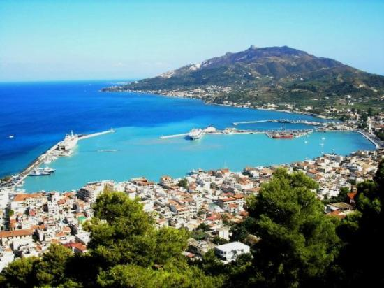 Zakynthos Town, Grekland: City & Island of Zakynthos - Family comes from this island.