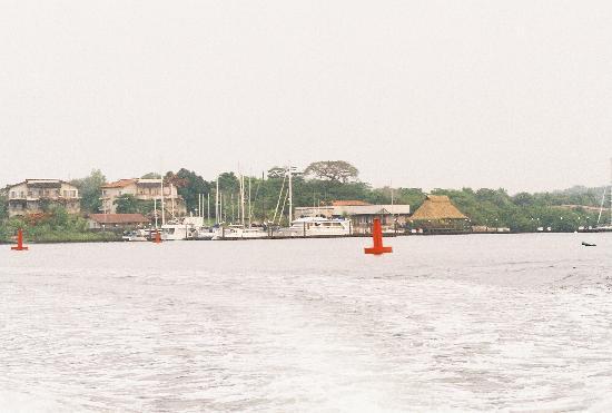 Aposentillo, Nicaragua: From Ocean Into The Lagoon